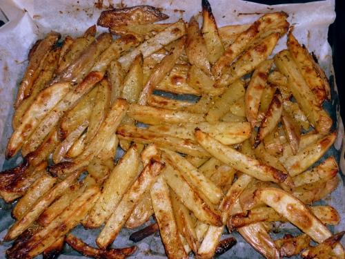 Frites au four 4