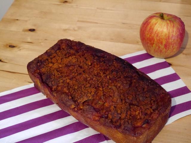 Gâteau pommes cannelle - Espelette et Chocolat