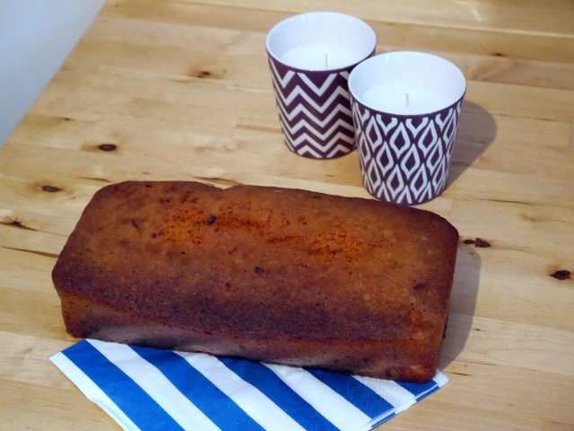 Cake aux poires et au chocolat - Espelette et chocolat