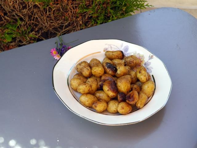 Pommes fondantes - Espelette et chocolat