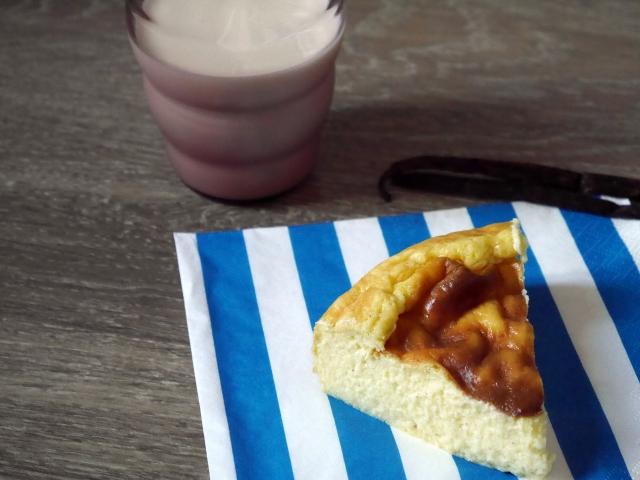 Flan à la vanille - Espelette et chocolat