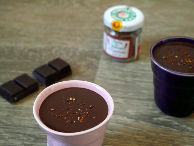 Ganaches au chocolat et au piment d'Espelette - Espelette et Chocolat