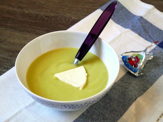 Soupe de courgette à la vache qui rit - Espelette et Chocolat