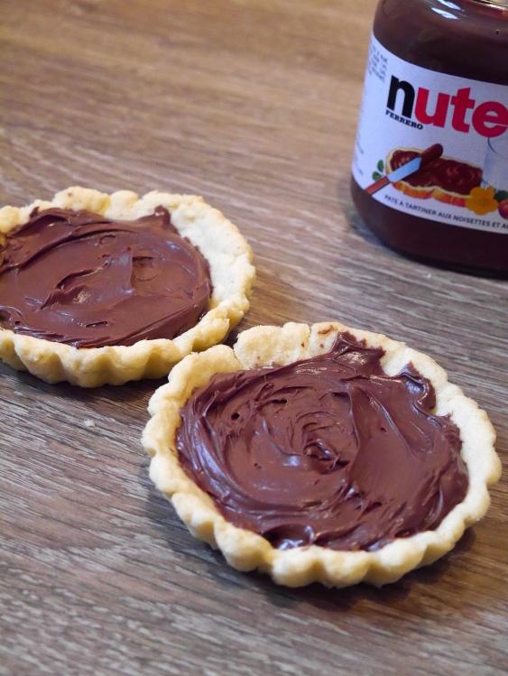 Tartelettes au Nutella - Espelette et Chocolat - http://espeletteetchocolat.wordpress.com